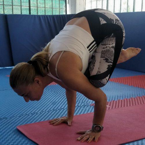 Κατερίνα Λυμπεράκη Yoga Ekali Sports Club