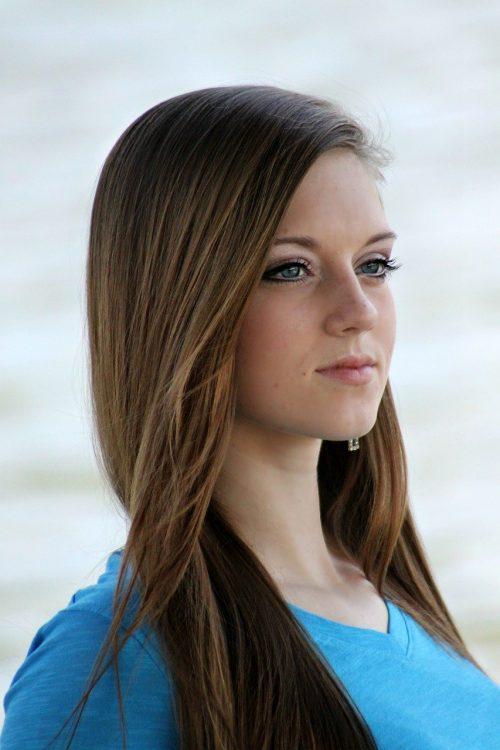 girl, beautiful, young